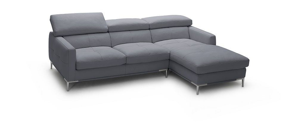 Italian Leather Sectional | Contemporary Sectional | Modern .