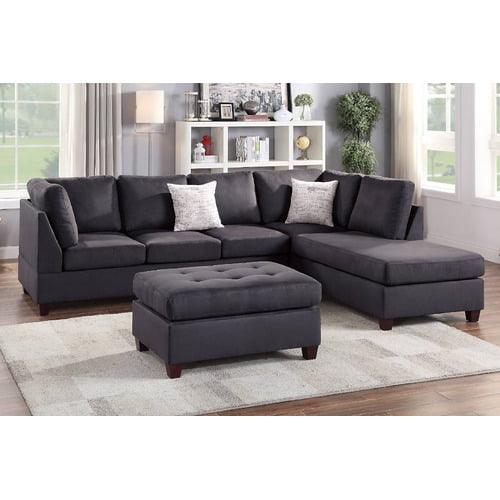 F6423 in by Poundex in Brick, NJ - 3-pcs Sectional Sofa S