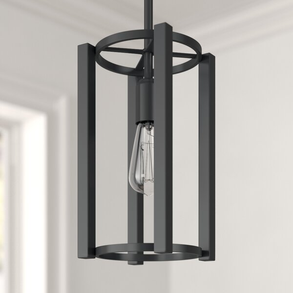 Foundstone Nolan 1 - Light Single Square / Rectangle Chandelier .