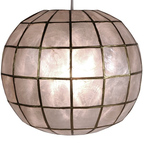 World Menagerie Nolan 1 - Light Single Globe Pendant & Reviews .
