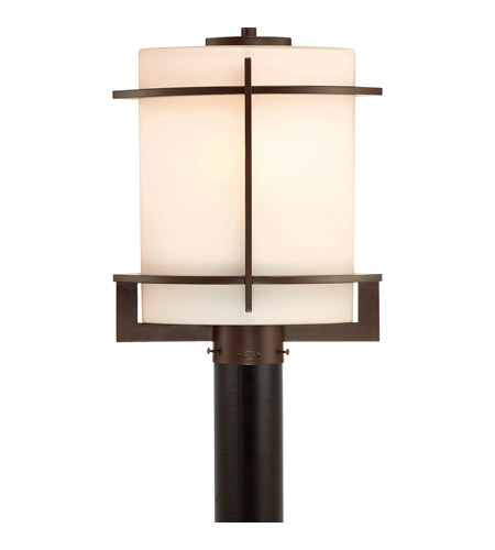 Quoizel Nolan 1 Light Outdoor Post Lantern in Western Bronze .