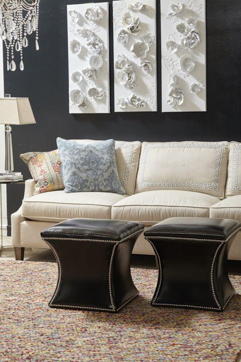 Kent Sofa and Roxie Ottomans | Norwalk furniture, Furniture .