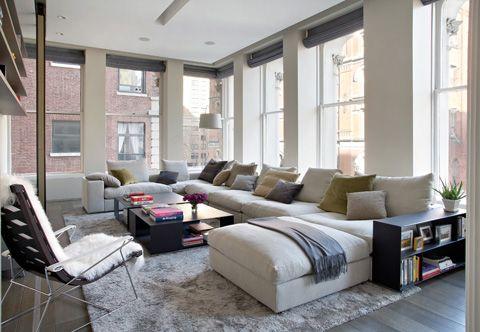 Bond Street Loft: New York City Suave Style - Loft Design   Modern .