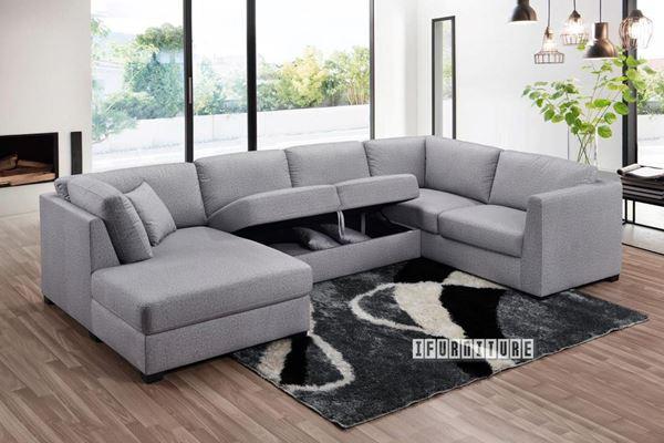 Oakdale Sectional Modular Sofa *Light Gr