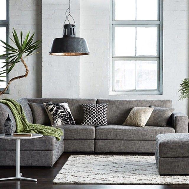 Freedom NZ Instagram | Aspect Modular Sofa - Need a grey, modular .