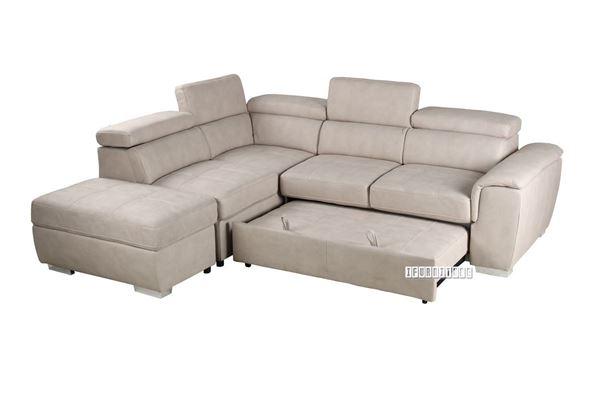 CAPRI Sectional Sofa/ Sofa Bed with Stora