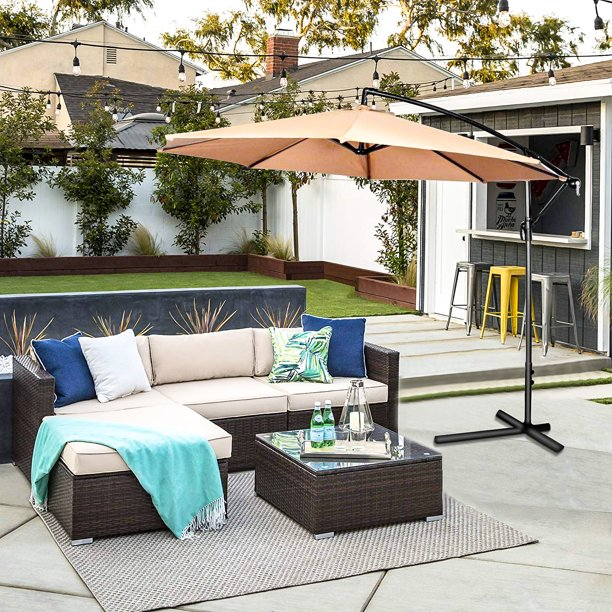 Oakville 5-Piece Made in USA Outdoor Cushions Patio Furniture Sets .
