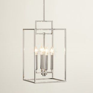 Laurel Foundry Modern Farmhouse Odie 4 - Light Lantern Square .
