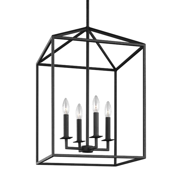 Odie 4-Light Lantern Square Pendant & Reviews | Joss & Main .