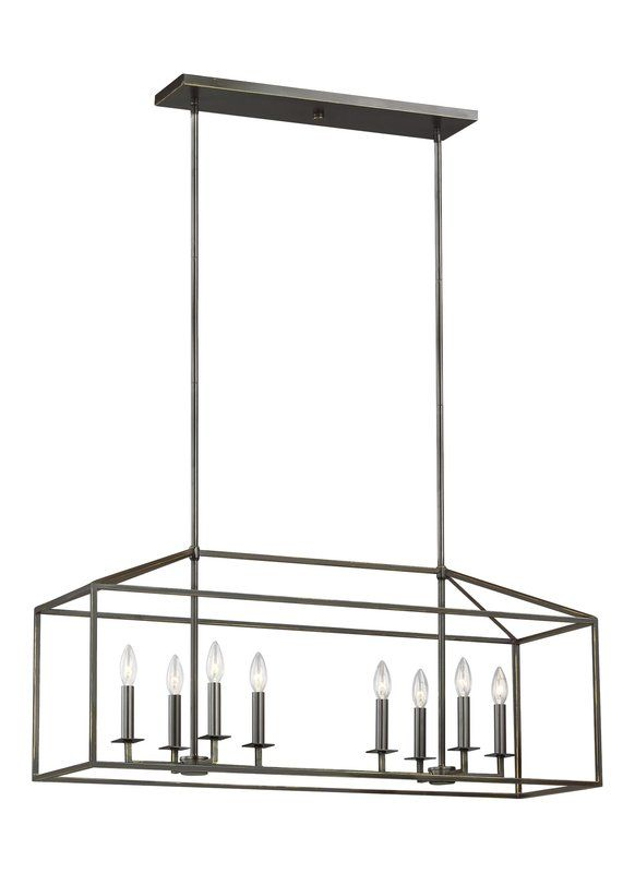 Odie 8-Light Kitchen Island Pendant | Kitchen island lighting .