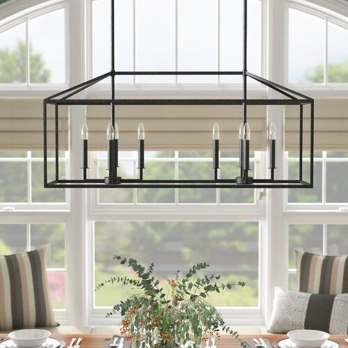 Odie 8 - Light Kitchen Island Rectangle Pendant in 2020 | Kitchen .
