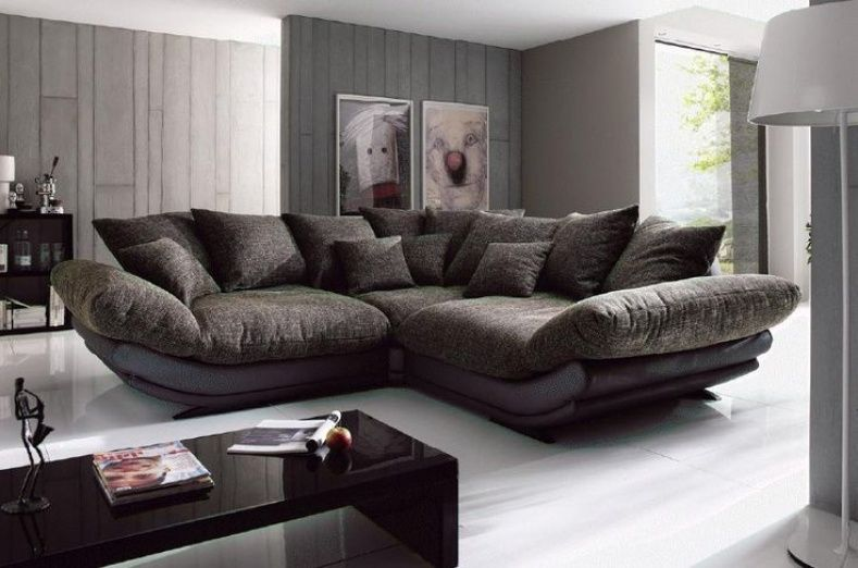 Big Comfy Couches For Sale | Large sectional sofa, Couches living .