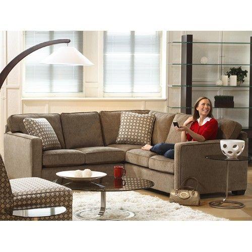 Stylus Lyric Five Seat Sectional Sofa | Stoney Creek Furniture .