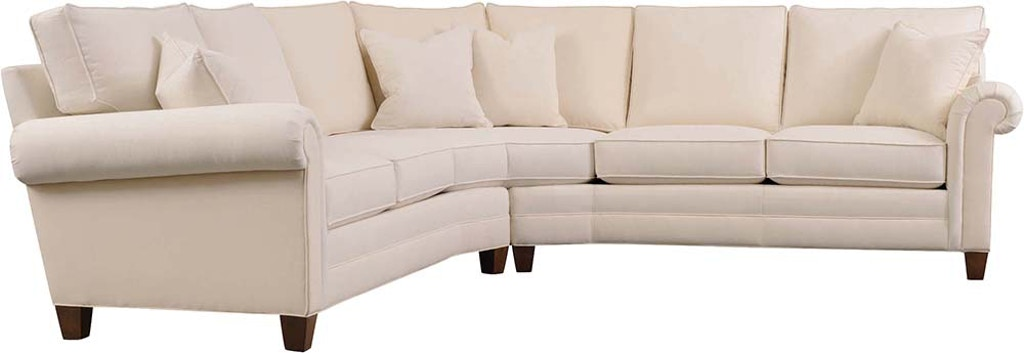 Stickley Living Room 8874-Arlington-Sectional-Uphostery - West .