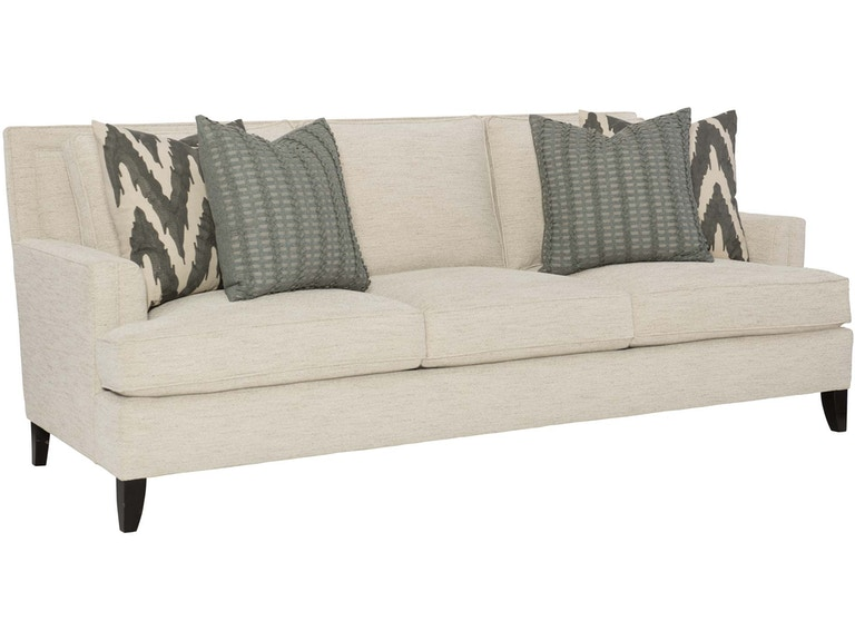 Bernhardt Living Room Sofa B1487 - West Coast Living - Orange .