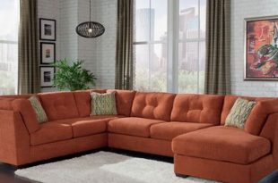 Exchange burnt orange rust sofa | Living room orange, Orange .