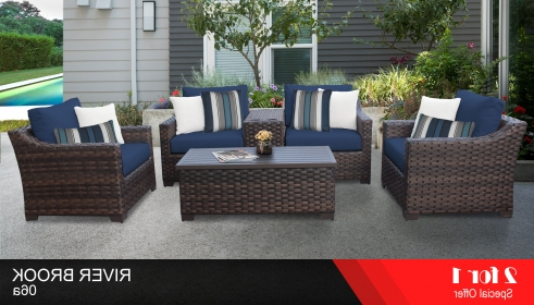 Gallery of Oreland Patio Sofas With Cushions (View 14 of 20 Photo
