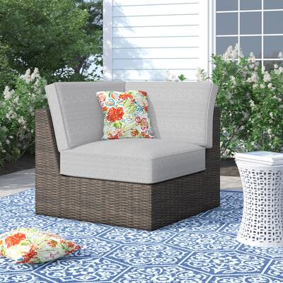 Sol 72 Outdoor Oreland Loveseat with Cushions & Reviews | Wayfa