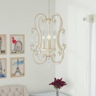 Willa Arlo Interiors Hopkins 3-Light Chandelier & Reviews | Wayfa