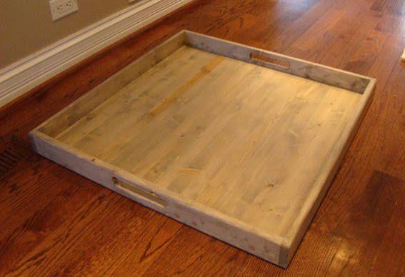 extra large ottoman tray | Large ottoman tray, Ottoman tray, Large .