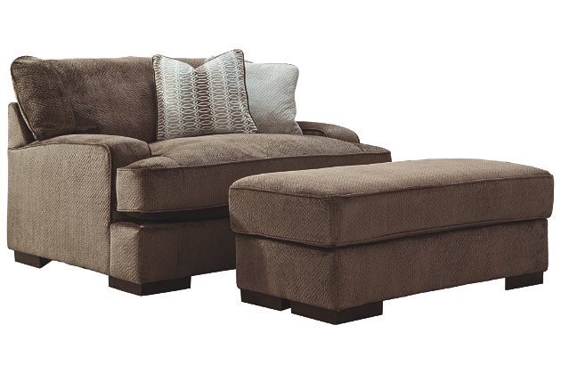 Fielding Sofa Oversized Chair and Ottoman | Ashley Furniture HomeSto