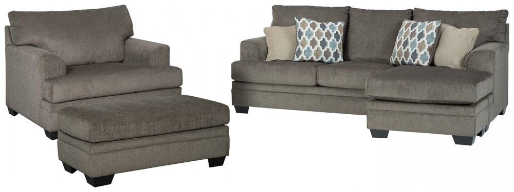 Dorsten - Sofa Chaise, Chair, and Ottoman | Living Room Groups .