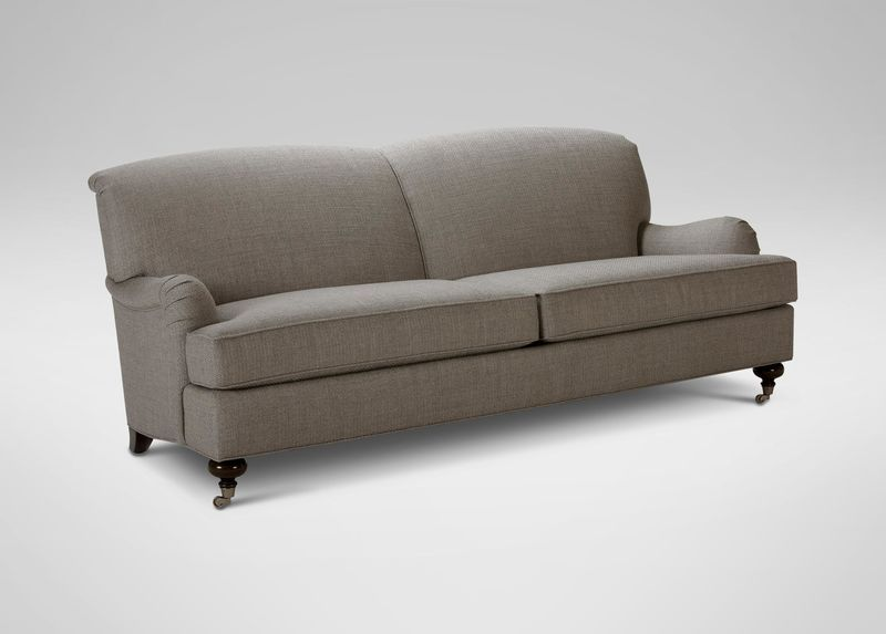 Oxford Sofa // Ethan Allen--the right back will mean no cushions .