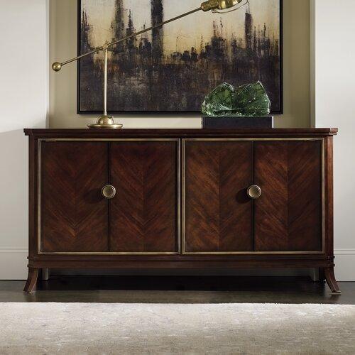 "Hooker Furniture Palisade 66.5"" Wide 3 Drawer Sideboard & Reviews ."
