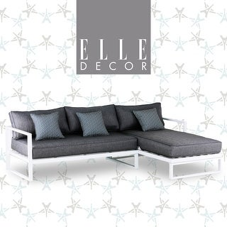 Shop Elle Decor Paloma Outdoor Sectional - Overstock - 229879