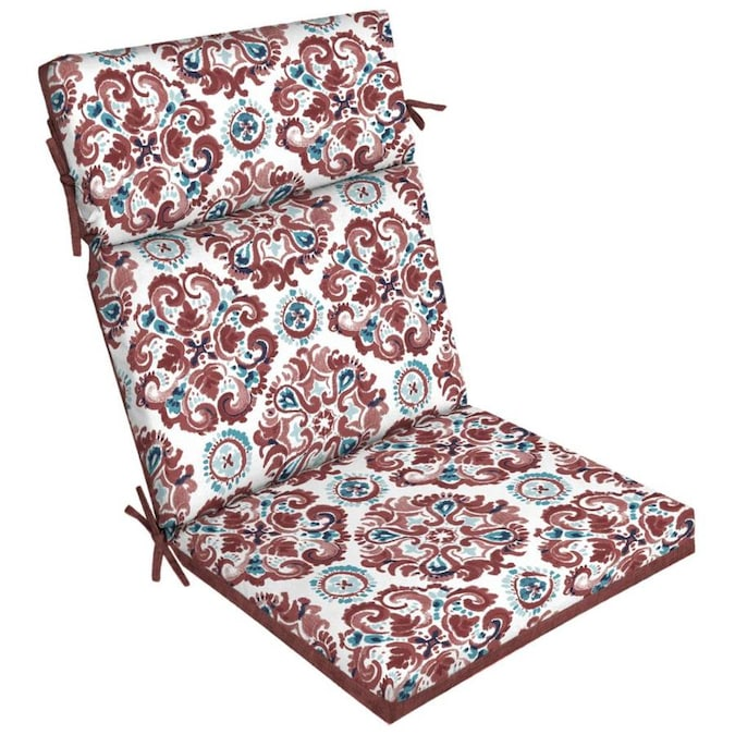 Style Selections Cambrian High Back Patio Chair Cushion in the .