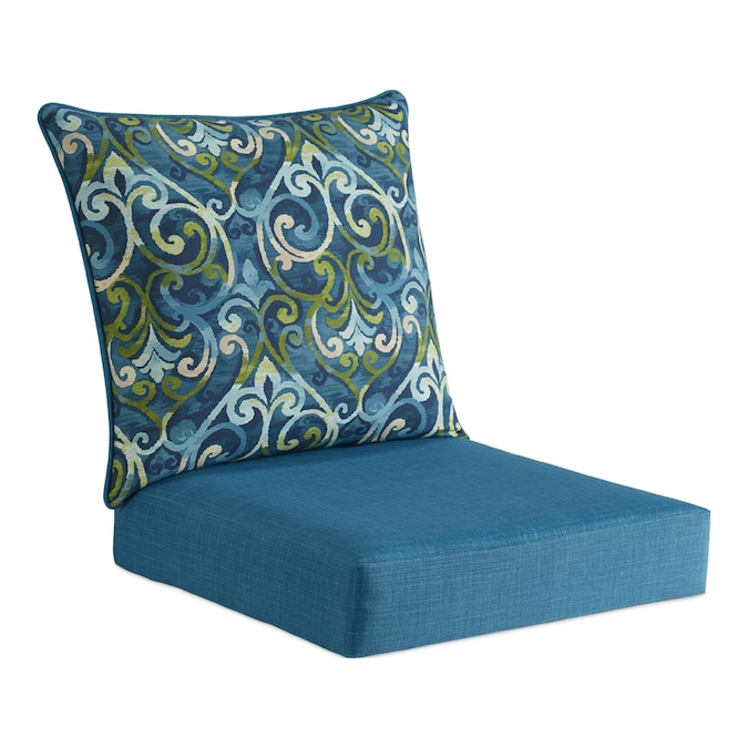 Style Selections 2-Piece Salito Marine Deep Seat Patio Chair .