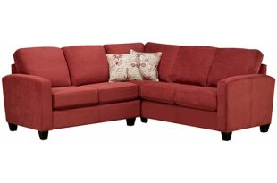 Sofa by Fancy – Labby Poppy Sectional (9975 Sedona) – Rental Ci