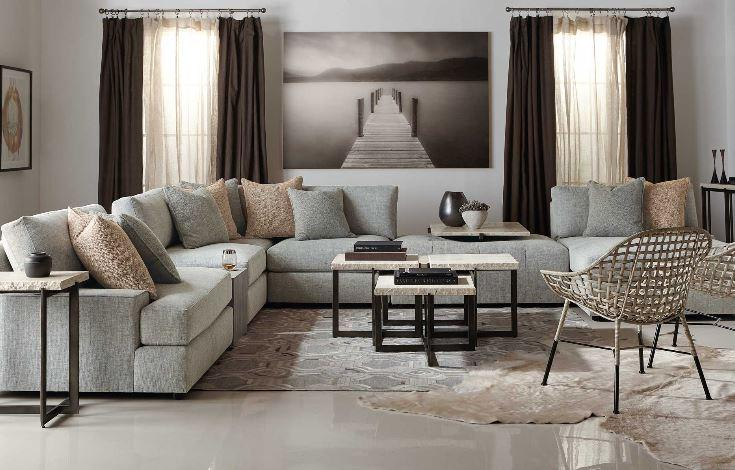 Theory Sectional Sofa - Bernhardt | Luxe Home Philadelph