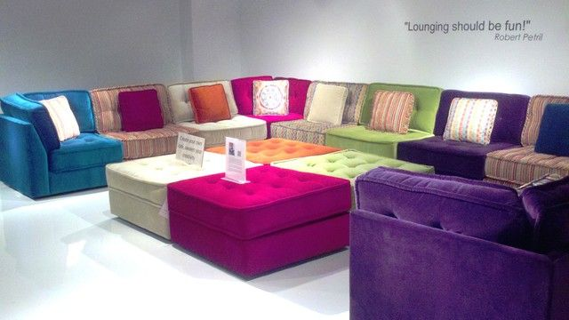 LOUNGE by Robert Petril for Lazar Ind. - modern - sectional sofas .