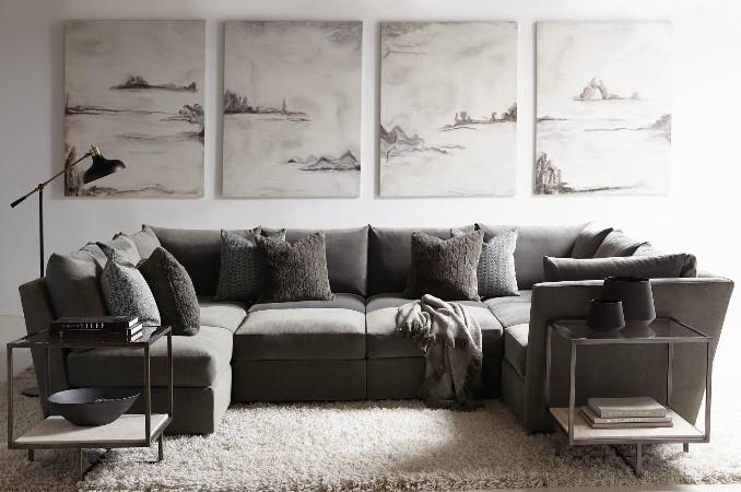 Sanctuary Sectional Sofa - Bernhardt | Luxe Home Philadelph