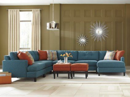 greyson sectional mod home | Custom sectional sofa, Custom sofa .