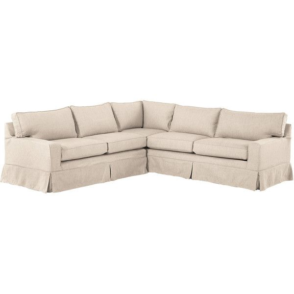 L.L.Bean Portland Sectional Sofa and Slipcover (36.386.500 VND .