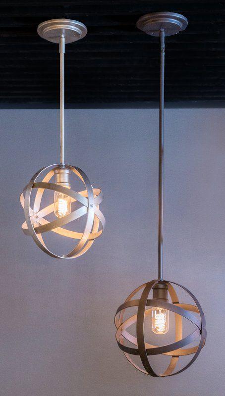 Prange 1-Light Single Globe Pendant | Pendant lighting .