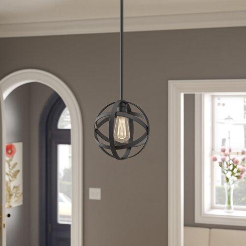 Prange 1-Light Single Globe Pendant & Reviews | Birch La
