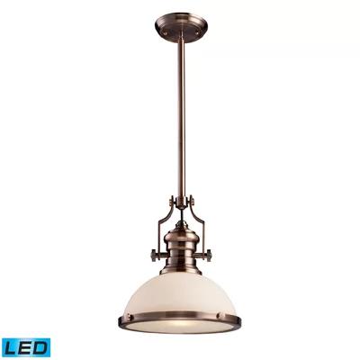 Priston 1-Light Single Dome Pendant | Copper hanging lights .