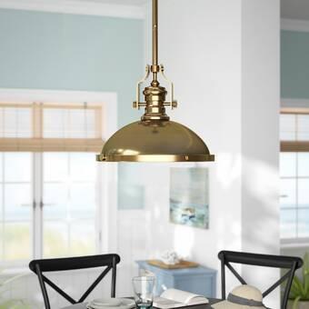 Priston 1 Light Single Dome Pendants