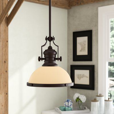 Proctor 1 - Light Single Dome Pendant | Kitchen lighting, Rustic .