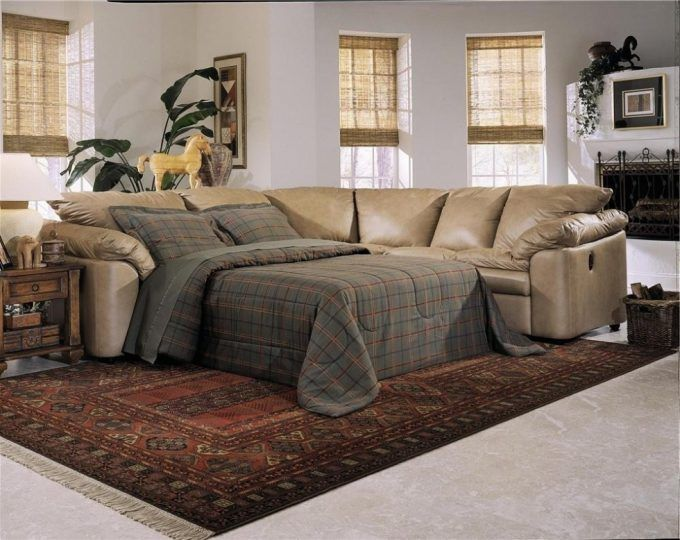 Sectional Sofa With Pull Out Bed And Recliner - https://www .