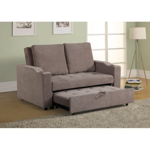 Shop Mini Max Decor Modern 2 in 1 Pullout Sofa Large - Overstock .