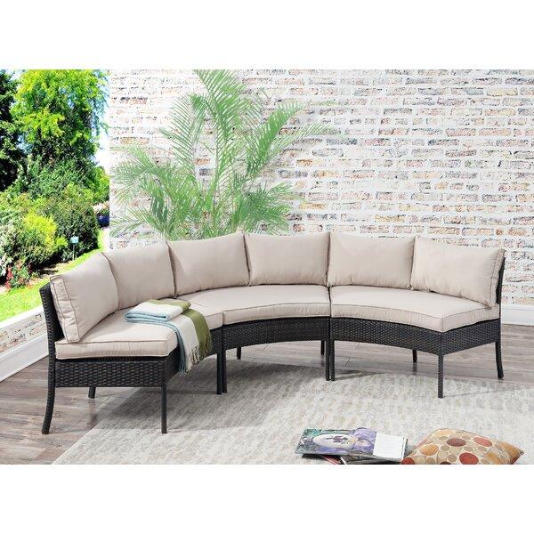 Purington Circular Patio Sectional with Cushions & Reviews | Joss .