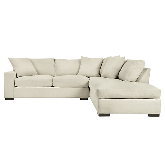 Del Mar Sectional Sofa | Chic Sectional Couch | Z Galler