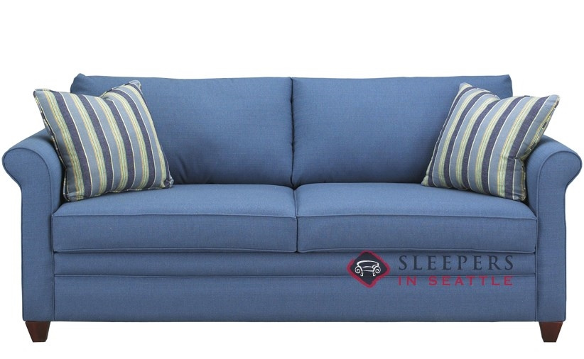 Customize and Personalize Denver Queen Fabric Sofa by Savvy .