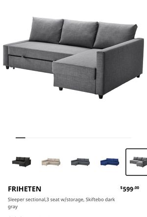 New and Used Sleeper sectional for Sale in Staten Island, NY - Offer