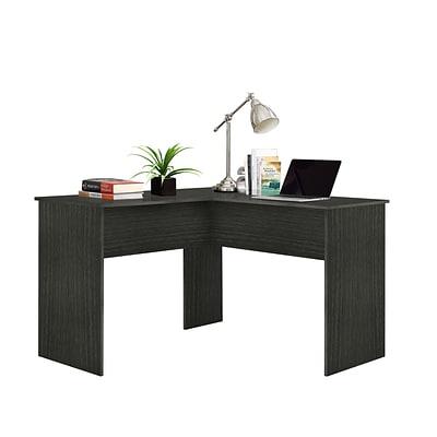 Easy 2 Go Corner Computer Desk, Gray (WE-OF-0152G) | Quill.c
