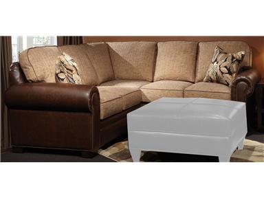 Marshfield Furniture Living Room Baldwin Sectional 2476-Sectional .